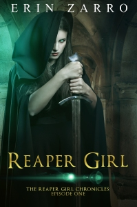 My beautiful cover for Reaper Girl, created by the awesome and wonderful Dannika Dark. :)